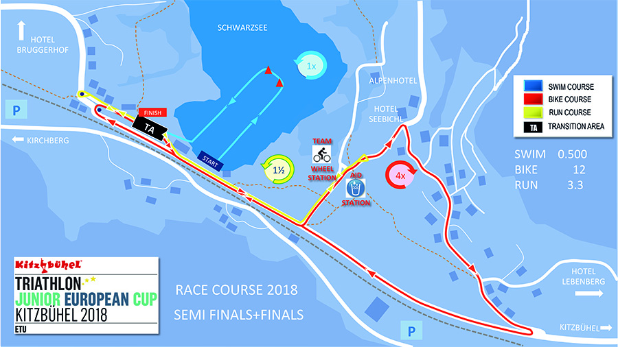 Juniors Race Course